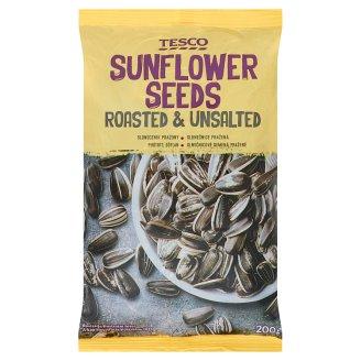Tesco Roasted & Unsalted Sunflower Seeds 200 g