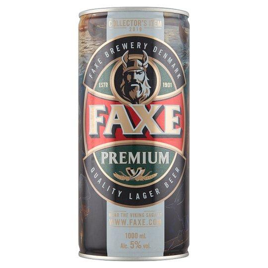 Faxe sör 5% 1000 ml