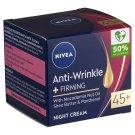 NIVEA Anti-Wrinkle + Firming Night Face Cream 45+ 50 ml