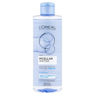 L'Oréal Paris Skin Expert Micellar Water for Normal to Combination, Sensitive Skin 400 ml