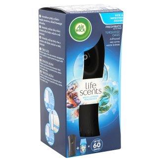 Air Wick Freshmatic Türkiz Oázis automata légfrissítő készülék és utántöltő 250 ml