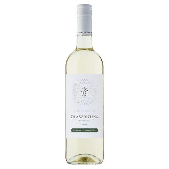 Ostorosbor Egri Olaszrizling Dry White Wine 12% 750 ml
