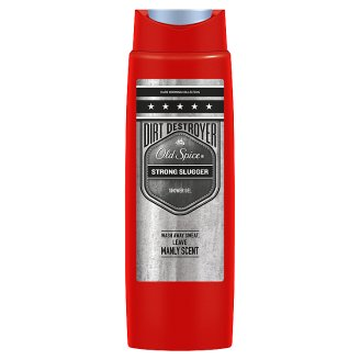 Old Spice Strong Slugger Shower Gel For Men 400 Ml