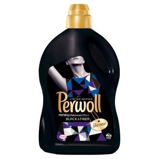 Perwoll renewAdvanced Black & Fiber finommosószer fekete és sötét textiliákhoz 45 mosás 2,7 l