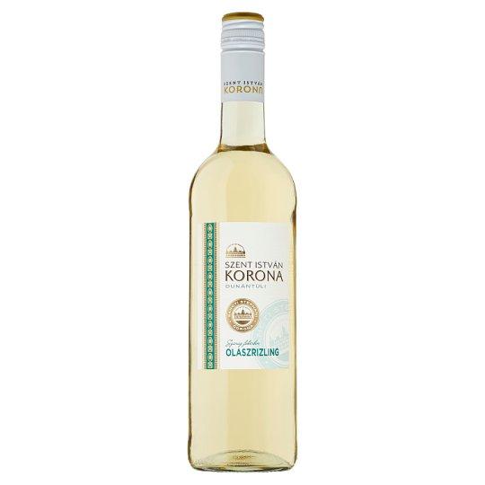 Szent István Korona Etyek-Budai Olaszrizling Dry White Wine 0,75 l