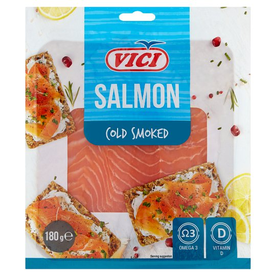 Vici Smoked & Sliced Salmon 180 g