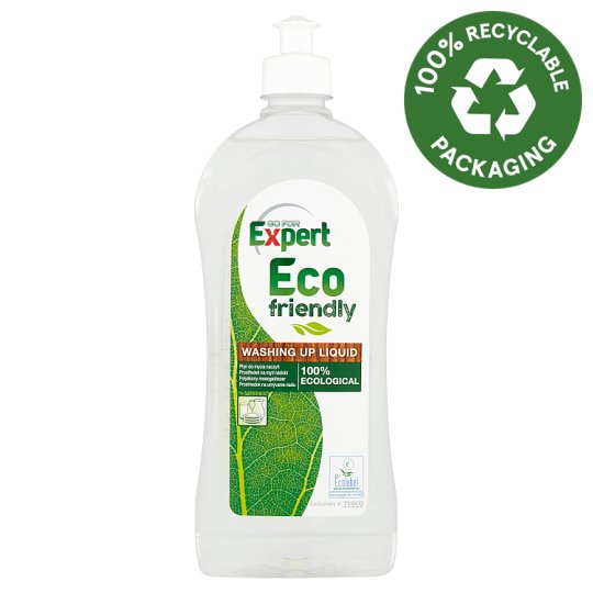 Go For Expert Eco Friendly Ecological Washing Up Liquid 500 ml