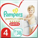 Pampers Premium Care, 4-as, 38 db Bugyipelenka