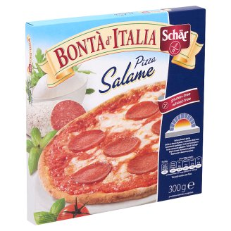 Schär Bontà d'Italia Gluten-Free Frozen Pizza with Salami 300 g