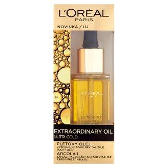 L'Oréal Paris Extraordinary Oil Nutri-Gold bőrszépítő arcolaj 30 ml
