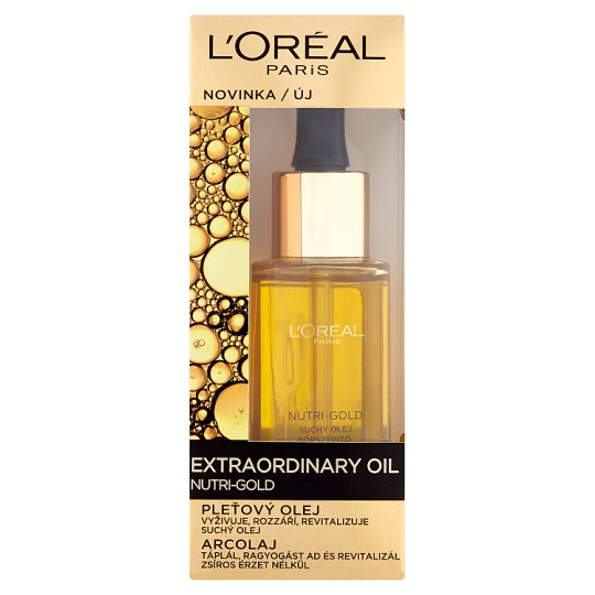 L'Oréal Paris Extraordinary Oil Nutri-Gold arcolaj 30 ml