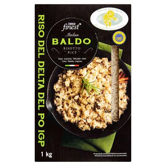 Tesco Finest hántolt, kerekszemű Baldo rizottó rizs 1 kg