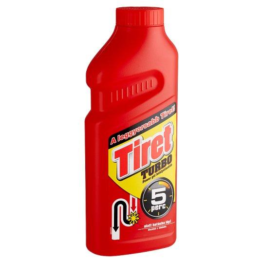 Tiret Turbo Power Gel Drain Cleaner 500 ml