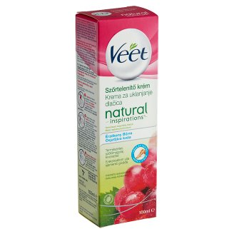 Veet Natural Inspirations Depilatory Cream for Sensitive Skin 100 ml