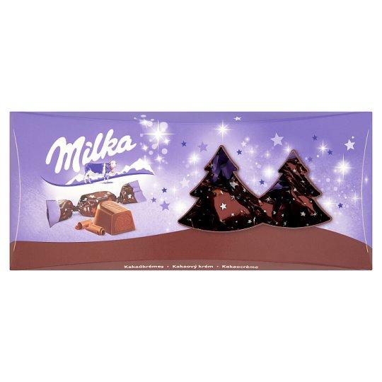 Milka Alpine Milk Chocolate Christmas Candy with Cocoa Cream 350 g