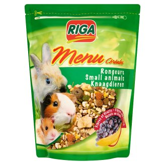 Riga Menu Complete Feed for Small Animals 350 g