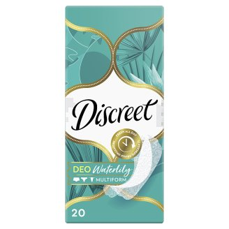 Discreet Waterlily Multiform Pantyliner 20ct