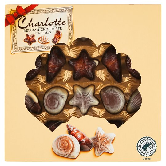 Charlotte Belgian Chocolate Sea Shells 250 g