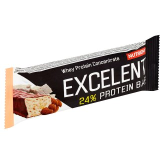 Nutrend Excelent Marzipan Flavoured Protein Bar with Almond 40 g