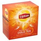 Lipton Brilliant Gold Tea ízesített fekete tea 20 piramis filter