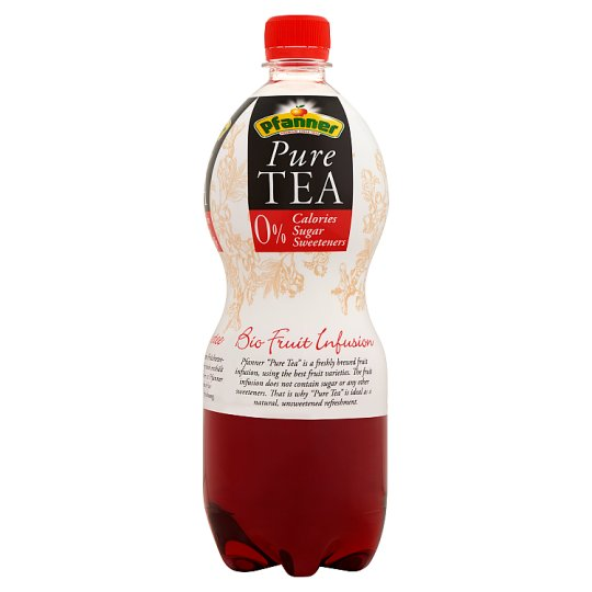 Pfanner Organic Pure Tea Fruit Tea Drink with Forest Fruit Flavour 1 l