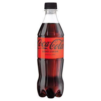 Coca-Cola Zero Energy Free Carbonated Soft Drink with Sweeteners 500 ml