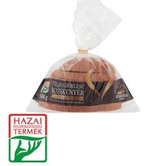 Kanizsa Pékség teljes kiőrlésű szeletelt rozskenyér 500 g