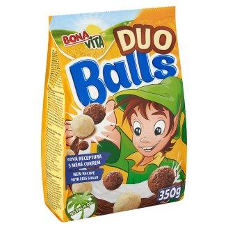 Bona Vita Duo Balls gabonafélék keverékéből készült kakaós és fehér csokoládé ízű gabonagolyó 350 g