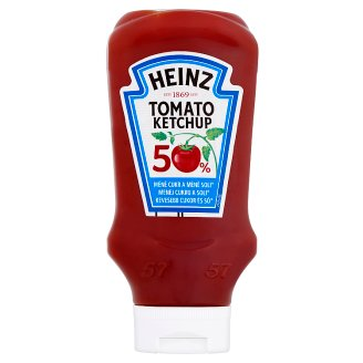 Heinz Light Tomato Ketchup with Sugar and Sweeteners 550 g