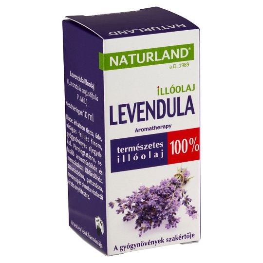 Naturland Aromatherapy levendula illóolaj 10 ml