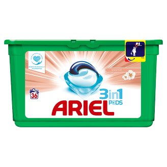 Ariel 3in1 Pods Washing Capsules Sensitive Gentle Formula 36 Washes