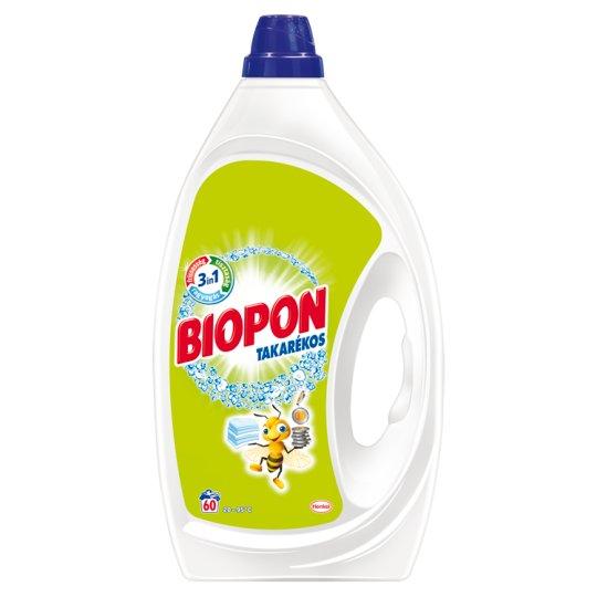 Biopon Takarékos mosószer 60 mosás 3 l