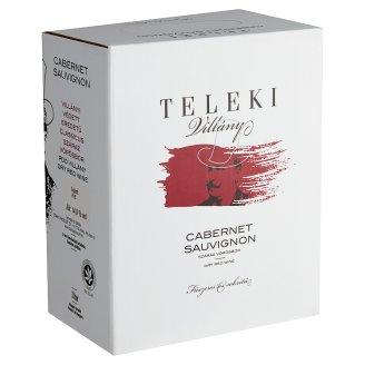 Teleki Cabernet Sauvignon száraz vörösbor 13% 3 liter