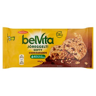 Belvita JóReggelt! Softy Crispy Biscuit with Chocolate Pieces 50 g