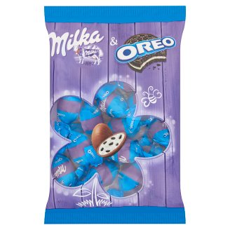 Milka & Oreo Alpine Milk Chocolate with Creamy Filling and Cocoa Biscuit Pieces 86 g