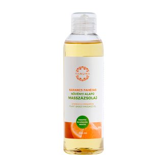 Yamuna Orange & Cinnamon Vegetable Massage Oil 250 ml