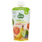 Ovko Gluten-Free Apple-Banana-Peach Baby Dessert without Added Sugar 6+ Months 120 g