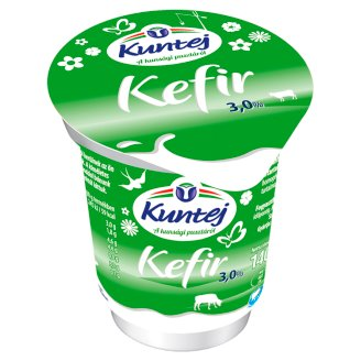 Kuntej Kunsági Kefir Cultured Milk Product with Live Culture 140 g