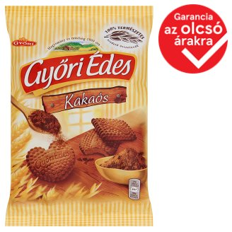 Győri Édes Friable Biscuit with Cocoa 180 g