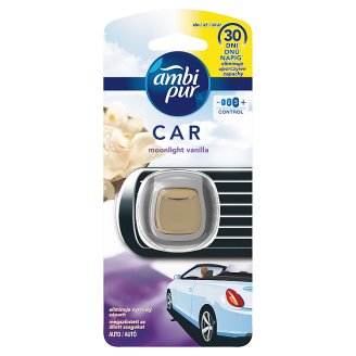 Ambi Pur Car Clip Air Freshener Moonlight Vanilla 1 Unit
