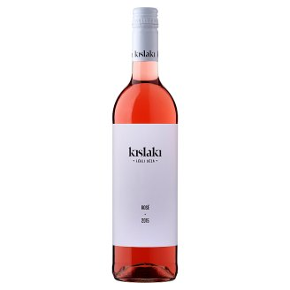 Kislaki Bormanufaktúra Szőlőskislaki száraz rozé bor 12% 0,75 l