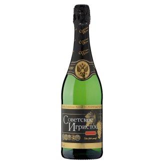 Szovjetszkoje Igrisztoje édes fehér pezsgő 10,5% 750 ml
