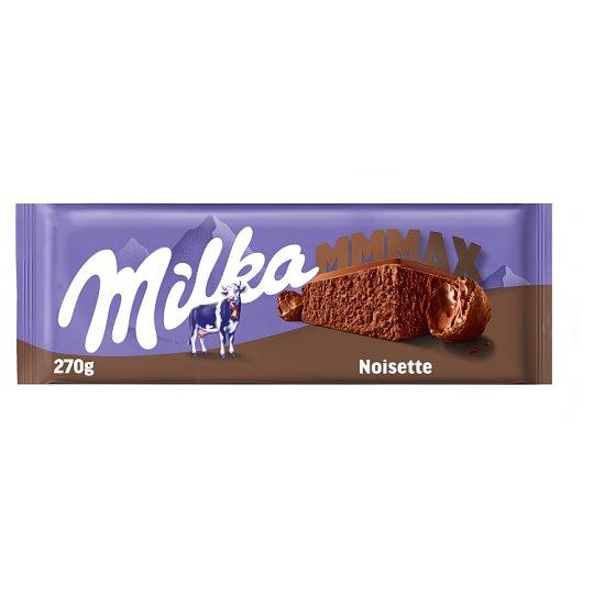 Milka alpesi tejcsokoládé mogyorómasszával 270 g