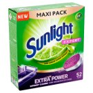 SUNLIGHT Expert Dishwashing Tabs 52 pcs
