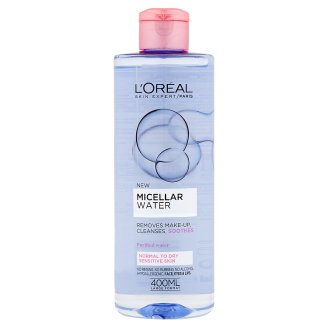 L'Oréal Paris Skin Expert Micellar Water for Normal to Dry, Sensitive Skin 400 ml