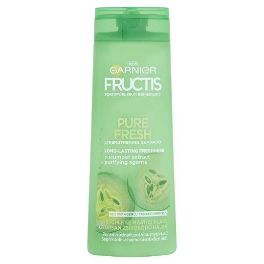 Garnier Fructis Pure Fresh sampon gyorsan zsírosodó hajra 400 ml