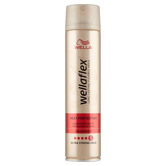 Wella Wellaflex Heat Protection Ultra Strong Hold hajlakk 250 ml