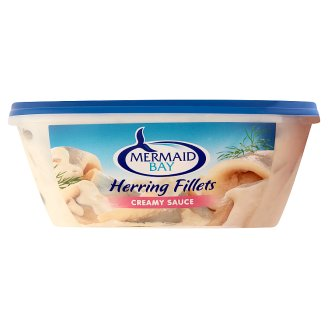 Mermaid Bay Herring Fillets in Creamy Sauce with Sugar and Sweeteners 300 g