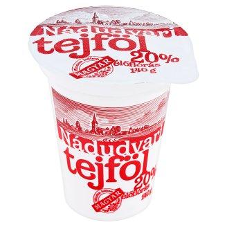 Nádudvari Sour Cream with Live Cultures 20% 140 g