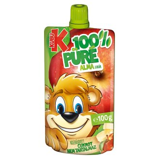 Kubu 100% Apple-Banana Purée with Vitamin C 100 g